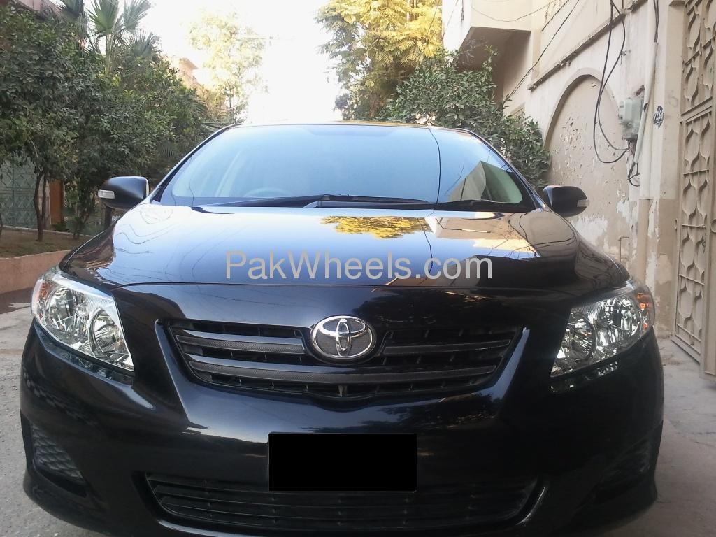used toyota corolla xli vvti 2010 car for sale in peshawar 295429 pakwheels. Black Bedroom Furniture Sets. Home Design Ideas
