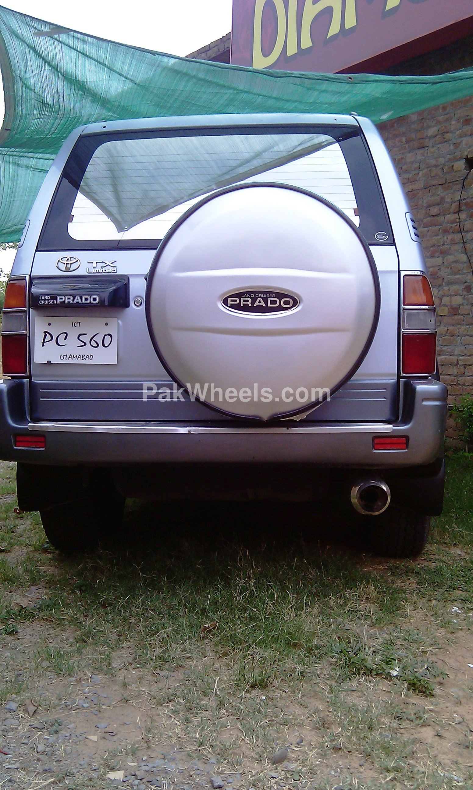 Used Toyota Land Cruiser Prado 3.0 N-turbo 1996 Car for sale in Islamabad - 242299 - 535263