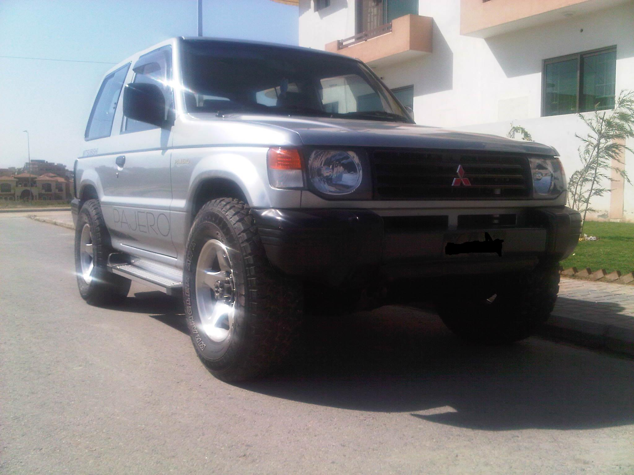 Mitsubishi Pajero 1997 of hasan - 36954