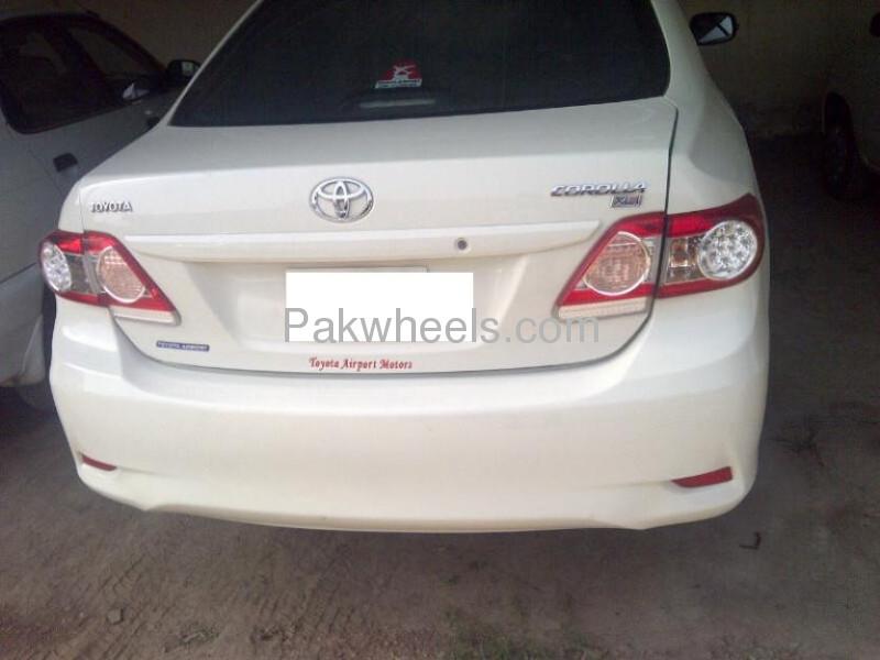 used toyota corolla xli 2011 car for sale in gujranwala 623078 pakwheels. Black Bedroom Furniture Sets. Home Design Ideas