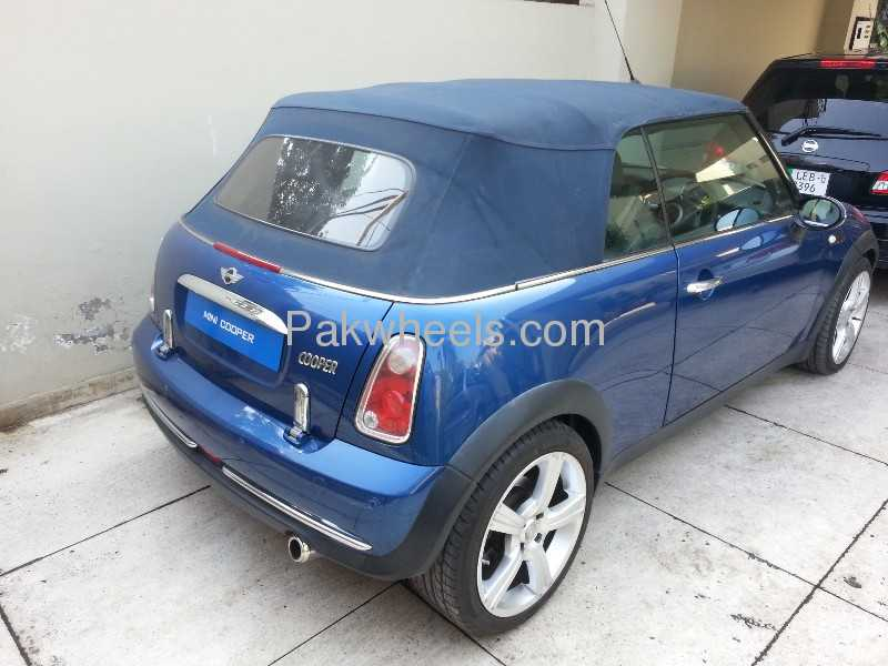 used mini cooper convertible 2007 car for sale in lahore 746354 pakwheels. Black Bedroom Furniture Sets. Home Design Ideas