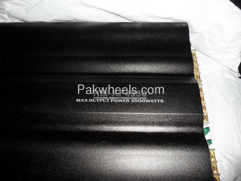 Car Amplifier Price In Karachi