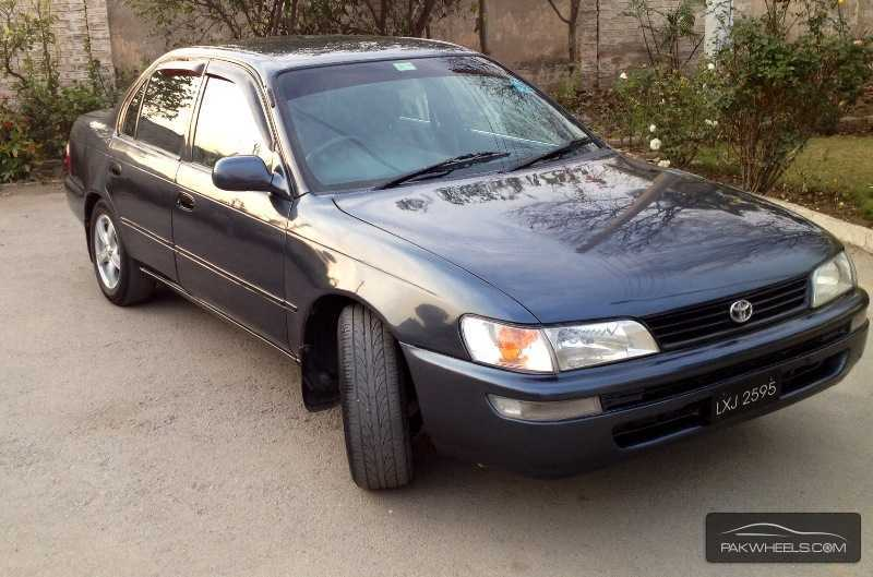 used toyota corolla 1998 car for sale in peshawar 781347. Black Bedroom Furniture Sets. Home Design Ideas