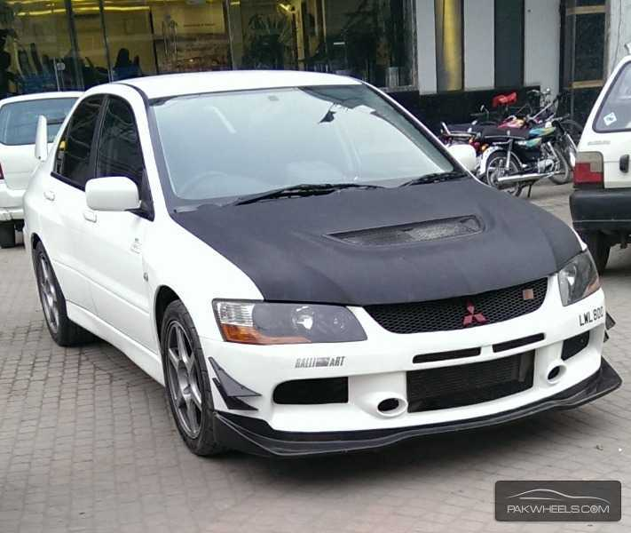 used mitsubishi lancer rs evolution x 2003 car for sale in lahore 807727 pakwheels. Black Bedroom Furniture Sets. Home Design Ideas