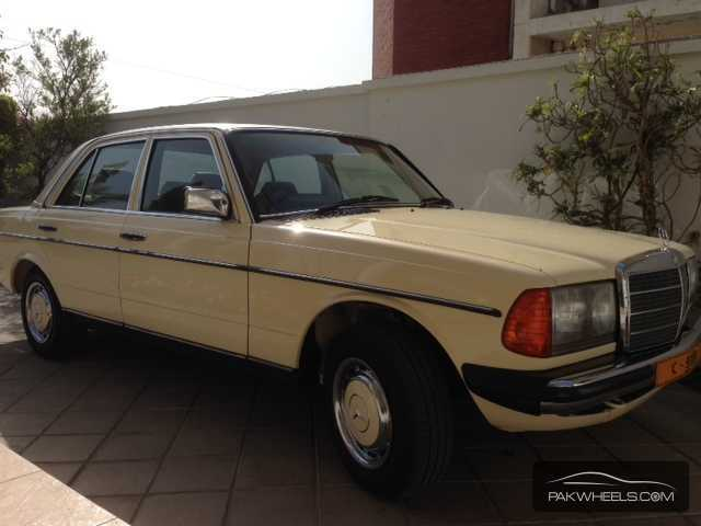 used mercedes benz e series 1984 car for sale in karachi