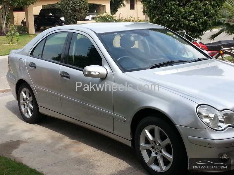 used mercedes benz c class c 180 komp 2005 car for sale in lahore 825258 pakwheels. Black Bedroom Furniture Sets. Home Design Ideas