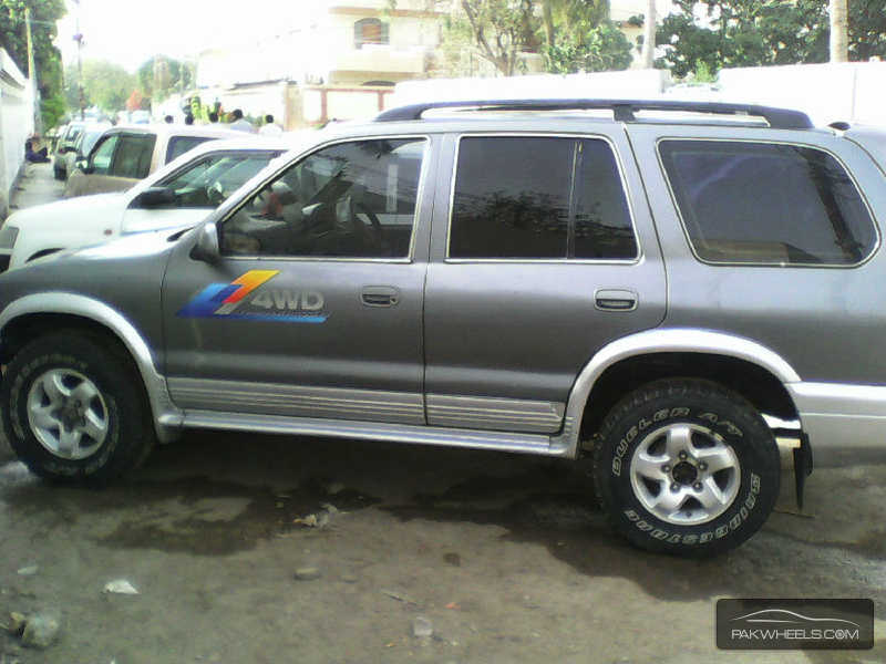 used kia sportage 2 0 lx 4x4 2004 car for sale in karachi. Black Bedroom Furniture Sets. Home Design Ideas