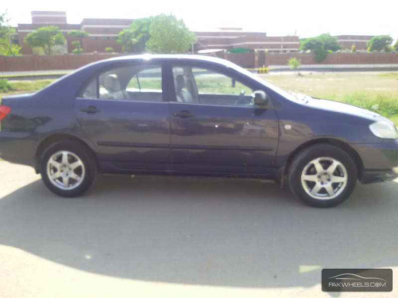used toyota corolla gli 2004 car for sale in lahore 827253 pakwheels. Black Bedroom Furniture Sets. Home Design Ideas