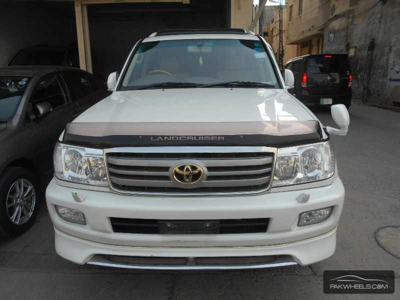 used toyota land cruiser vx limited edition 2005 car for sale in lahore 845887 pakwheels. Black Bedroom Furniture Sets. Home Design Ideas