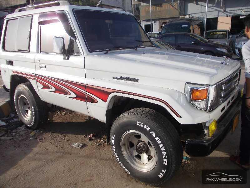 used toyota land cruiser 1991 car for sale in karachi. Black Bedroom Furniture Sets. Home Design Ideas