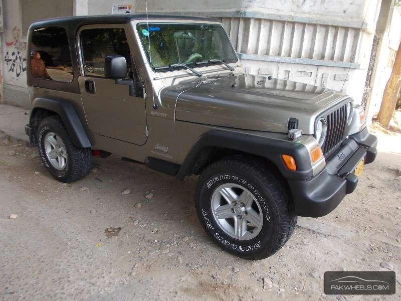 used jeep wrangler 1992 car for sale in karachi 857864 pakwheels. Black Bedroom Furniture Sets. Home Design Ideas