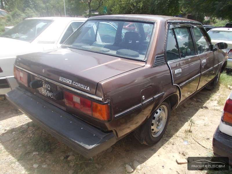 used toyota corolla dx 1981 car for sale in islamabad 867365 pakwheels. Black Bedroom Furniture Sets. Home Design Ideas