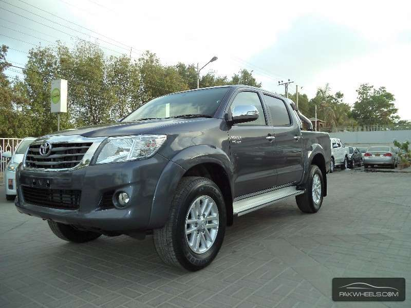 All New Toyota Hilux Vigo 2014 Price In Pakistan   Autos Classic Blog