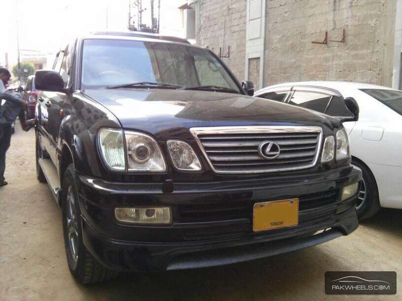used toyota land cruiser cygnus 2003 car for sale in. Black Bedroom Furniture Sets. Home Design Ideas