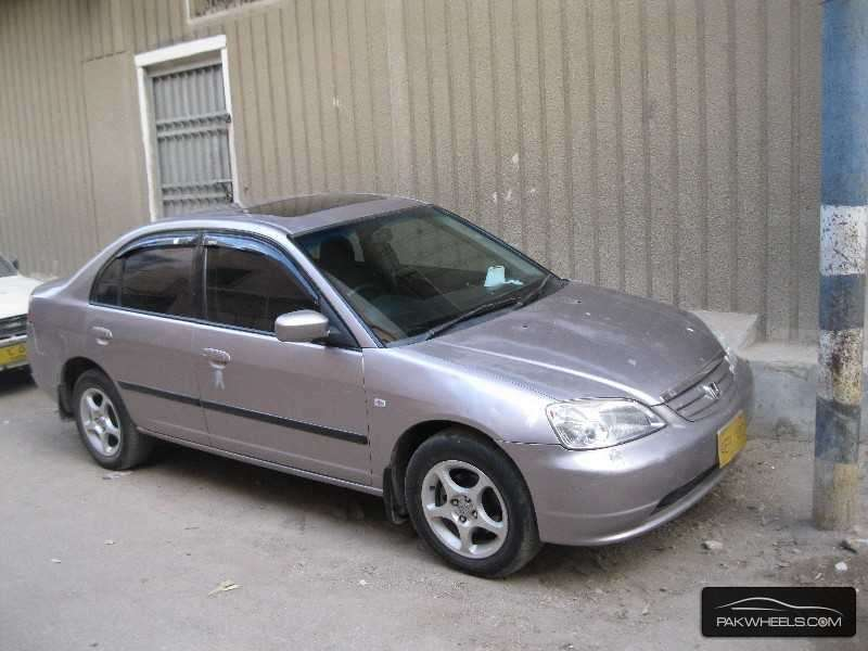 used honda civic vti oriel 2002 car for sale in karachi 873631 pakwheels. Black Bedroom Furniture Sets. Home Design Ideas