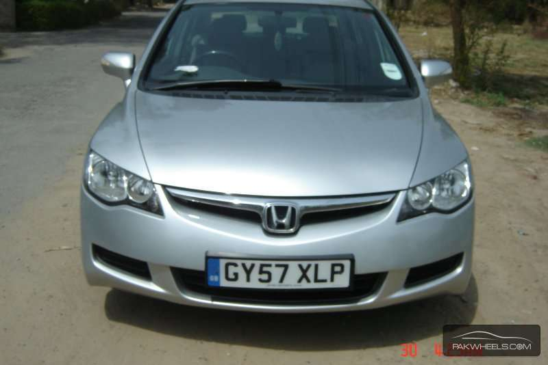 used honda civic hybrid mxst 2007 car for sale in faisalabad 874090 pakwheels. Black Bedroom Furniture Sets. Home Design Ideas