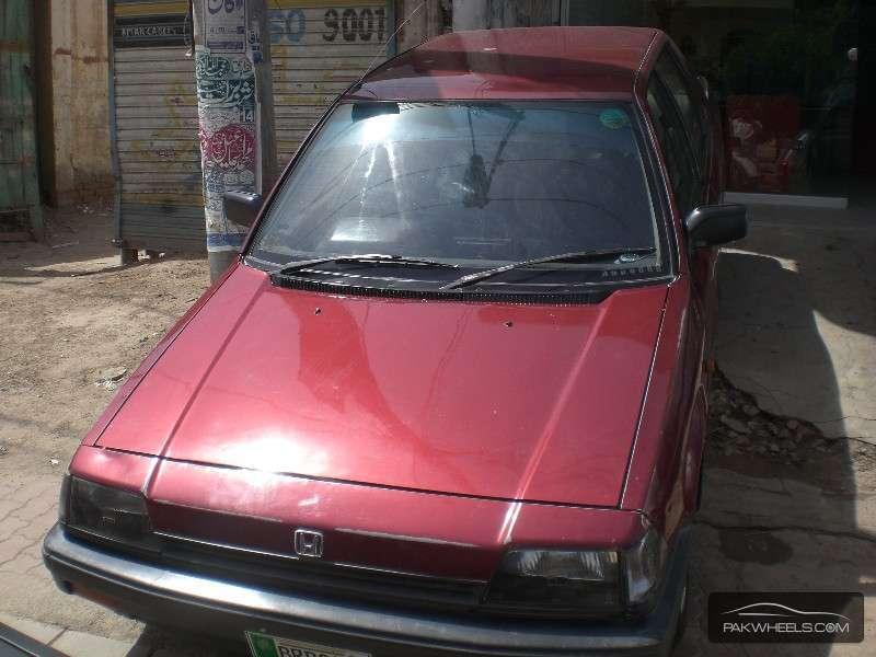 used honda civic 1987 car for sale in multan 898487. Black Bedroom Furniture Sets. Home Design Ideas