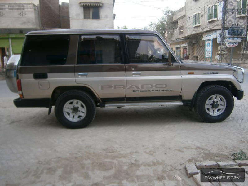 used toyota land cruiser sw gx 1991 car for sale in lahore. Black Bedroom Furniture Sets. Home Design Ideas