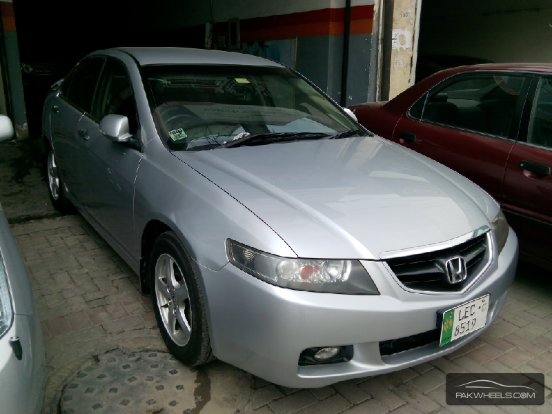 used honda accord cl9 2004 car for sale in lahore 917919 pakwheels. Black Bedroom Furniture Sets. Home Design Ideas
