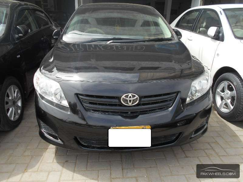 used toyota corolla xli 2009 car for sale in karachi 917825 pakwheels. Black Bedroom Furniture Sets. Home Design Ideas