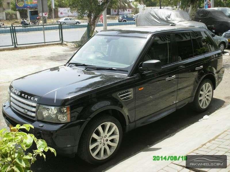 used range rover sport 4 2 v8 supercharged 2006 car for sale in karachi 937195 pakwheels. Black Bedroom Furniture Sets. Home Design Ideas