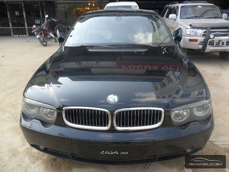 used bmw 7 series 730d 2002 car for sale in rawalpindi. Black Bedroom Furniture Sets. Home Design Ideas