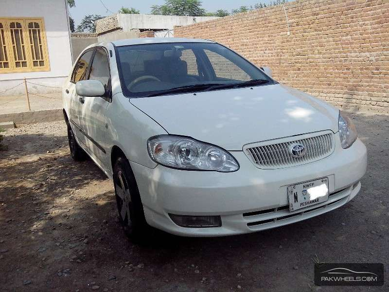 used toyota corolla xli 2004 car for sale in peshawar 945384 pakwheels. Black Bedroom Furniture Sets. Home Design Ideas