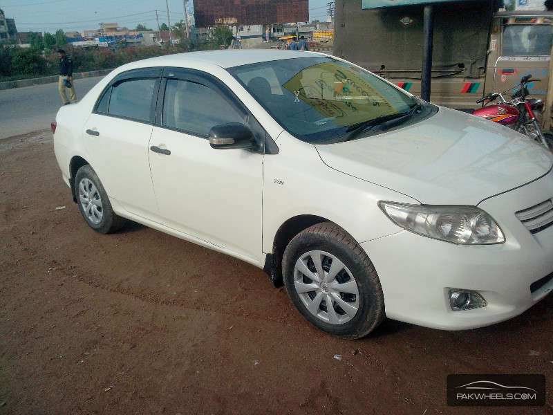 used toyota corolla xli vvti 2009 car for sale in lahore 945517 pakwheels. Black Bedroom Furniture Sets. Home Design Ideas