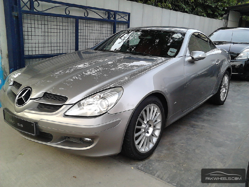 used mercedes benz slk class slk 200 2006 car for sale in lahore 953343 pakwheels. Black Bedroom Furniture Sets. Home Design Ideas