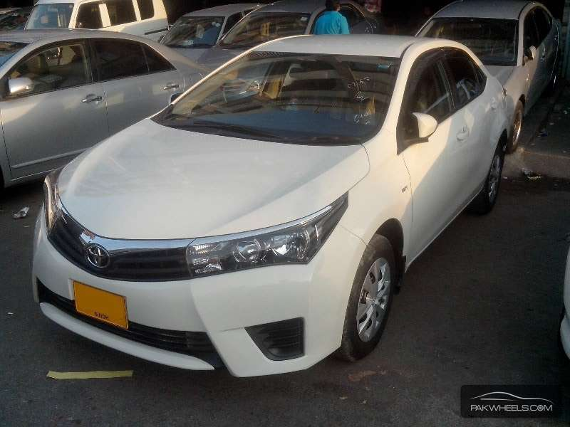 used toyota corolla xli 2014 car for sale in karachi 1001384 pakwheels. Black Bedroom Furniture Sets. Home Design Ideas