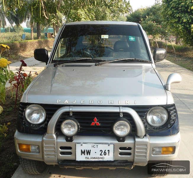 Mitsubishi Pajero Wallpapers: 1998 Mitsubishi Pajero Mini Related Infomation
