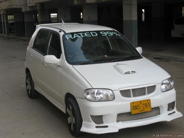 Modified alto pictures for Alto car decoration