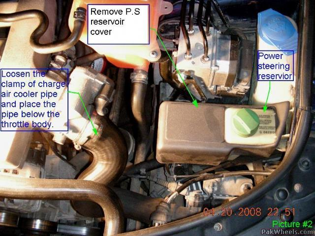 picture1_DY2_PakWheels(com) power steering fluid flush ***diy*** Toyota Power Steering Diagram at readyjetset.co