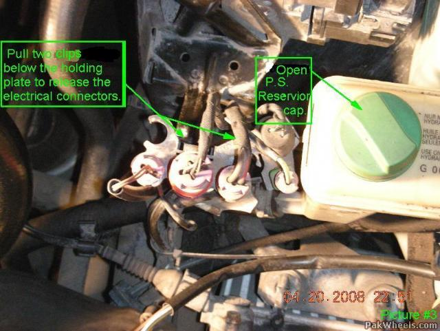 Power Steering Fluid Flush    Diy