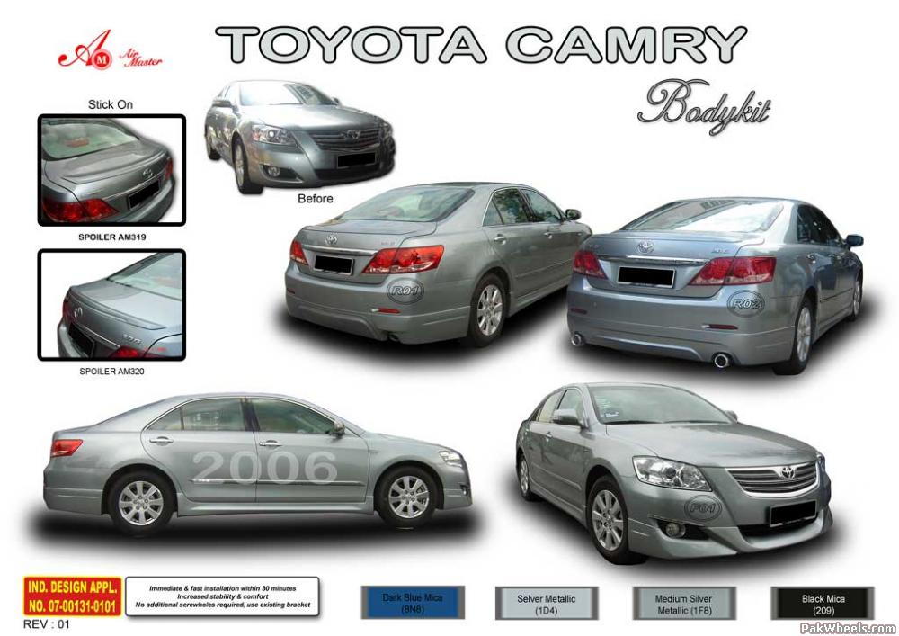 new toyota camry and many modified cars other toyota. Black Bedroom Furniture Sets. Home Design Ideas