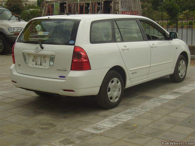 toyota fielder 2005 station wagon for sale cars. Black Bedroom Furniture Sets. Home Design Ideas