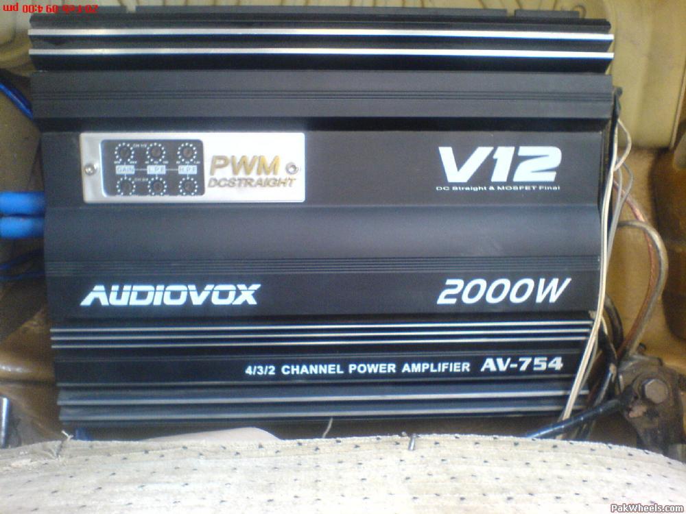 Car Amplifier Sale In Lahore
