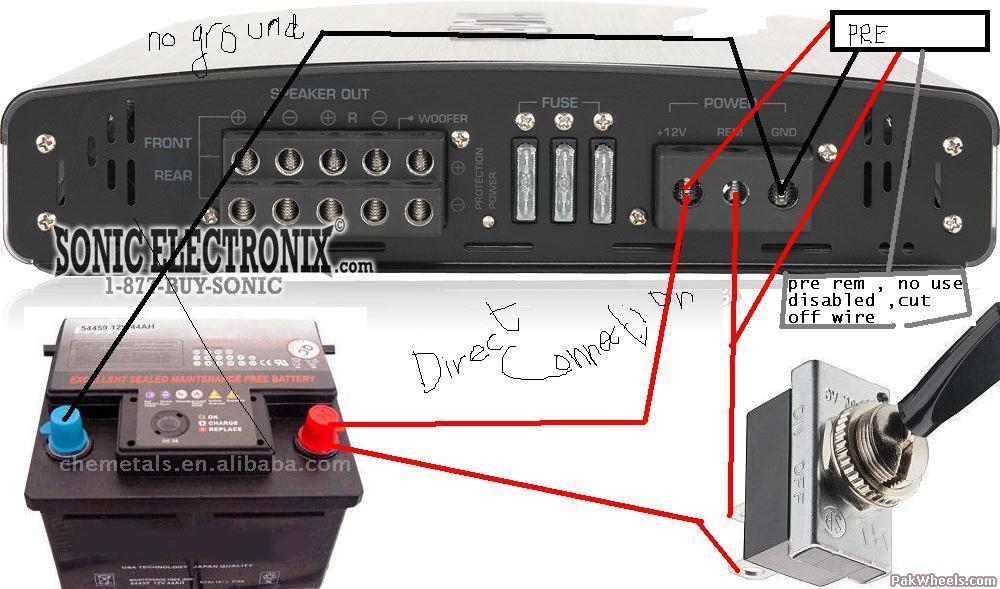 Subwoofer Wiring Diagrams Big 3 Upgrade