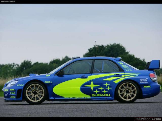 Rank Subaru Car Pictures 2006 Subaru Impreza Wrc Prototype