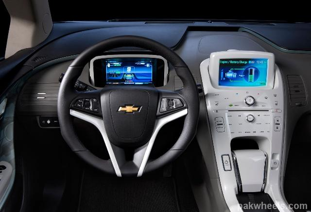 2011 Chevy Volt Interior Close Up NID Pakwheels(Com)