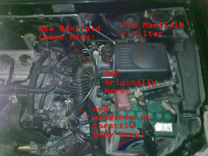 2004 Corolla Gli (2NZ-FE) Short Ram Intake problem - 47035attach