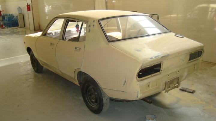 Restoring Datsun 120Y (1974)(Honda Point making this dream ...