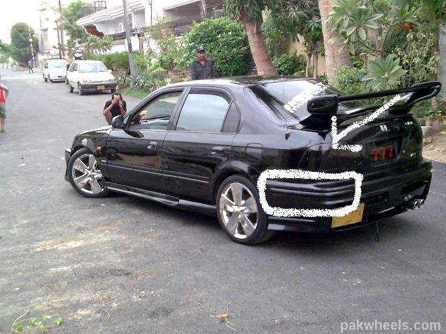 modified cars in pakistan honda 95 images