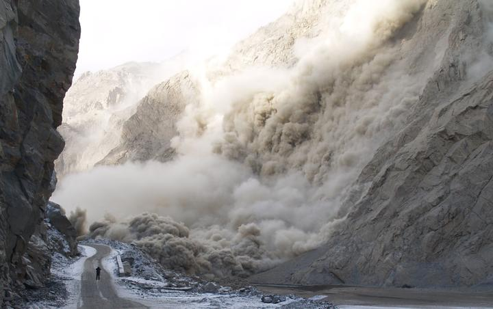 """Hunza Disaster - Gojal"" Karakoram Highway: The Glaciated Mother of Every Epic Drive! - 43548attach"