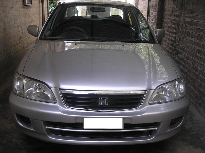 My new ride Honda City 2002 - 50621attach