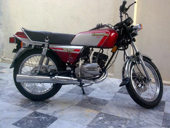 Kawasaki GTO-125 For Sale in Islamabad - Cars - PakWheels Forums