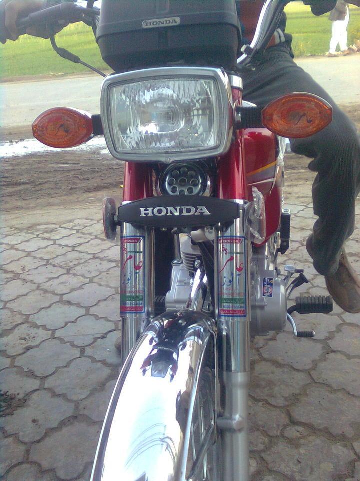 Brand New Honda CG 125 2010 - 44900attach