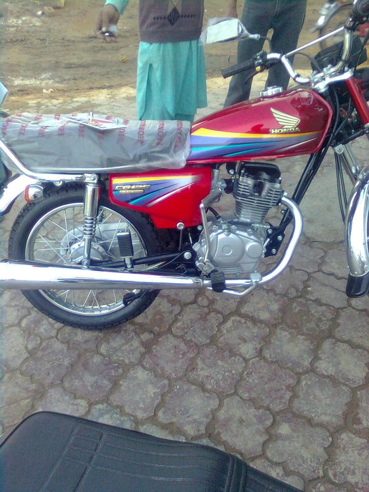 Brand New Honda CG 125 2010 - 44902attach