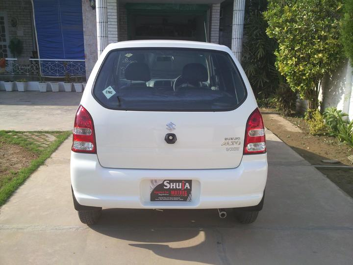 Suzuki Alto VXR (cng) 2010 model for sale - 50519attach