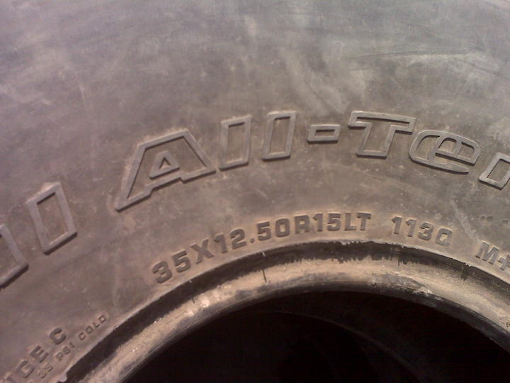 Wanted: 35 inch tires... - 50624attach